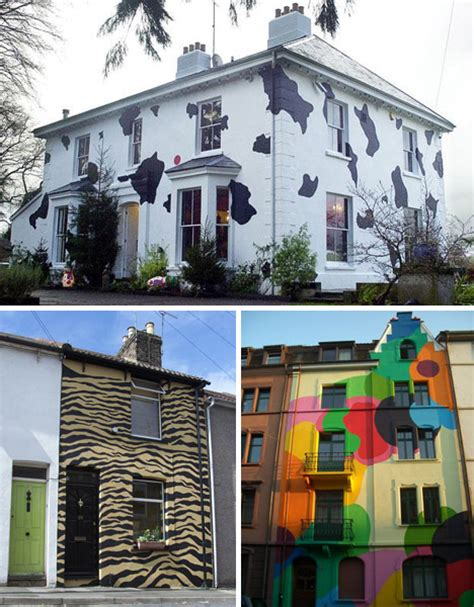 painted houses cool colors 10 crazy painted houses home painting ideas