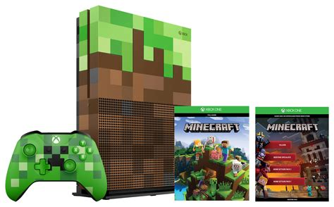 minecraft console argos announces pre orders for xbox one x and exclusive