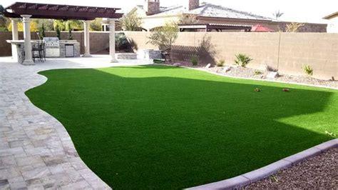 backyard artificial grass backyard landscape synthetic grass travertine bbq pergola