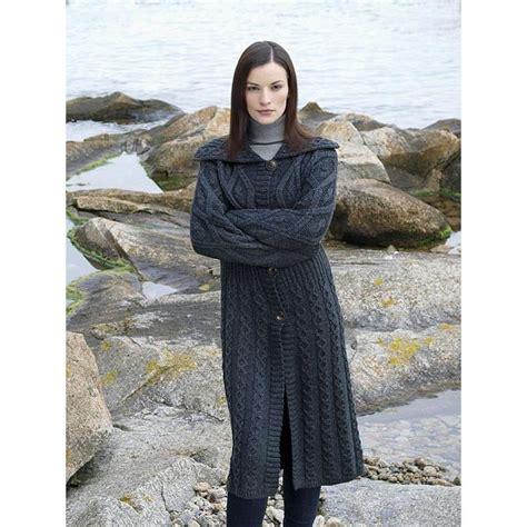 knit pattern long sweater coat free knitting pattern long cardigan google search
