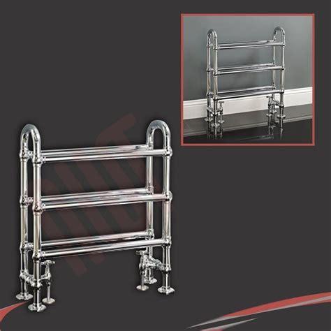 Chrome Bathroom Towel Rails by High Btus Traditional Designer Chrome Heated Towel Rails