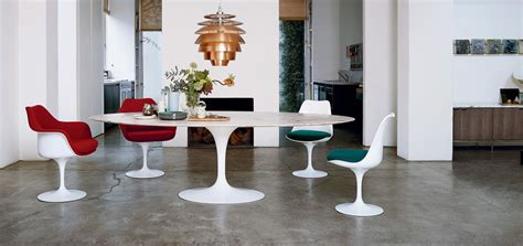 oval dining tables and chairs saarinen dining table oval knoll