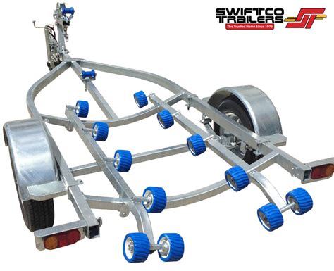 boat trailer roller dimensions swiftco double jet ski trailer roller type