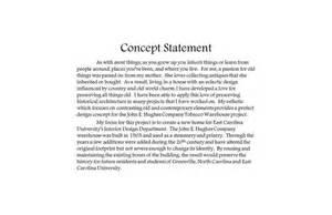 design statement template architecture graduate school personal statement exles