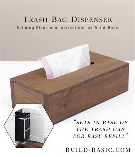 bag dispenser build a trash bag dispenser build basic