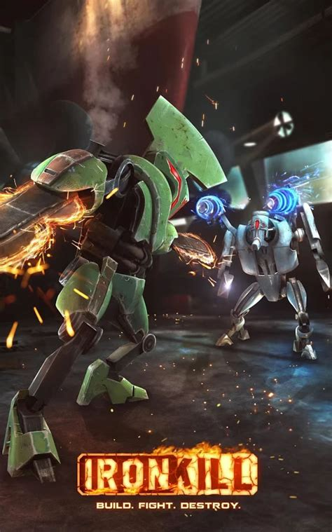 download game action mod android ironkill robot fighting game v1 9 171 hack mod apk download
