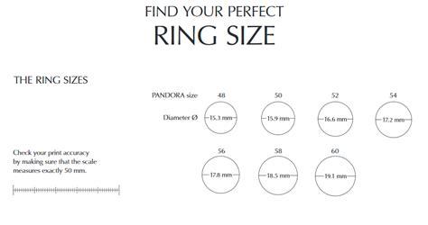 Printable Ring Sizer Pandora   ring sizer pandora pandora bracelets and charms prices
