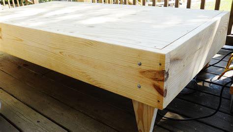 plans twin size platform bed plans  wooden