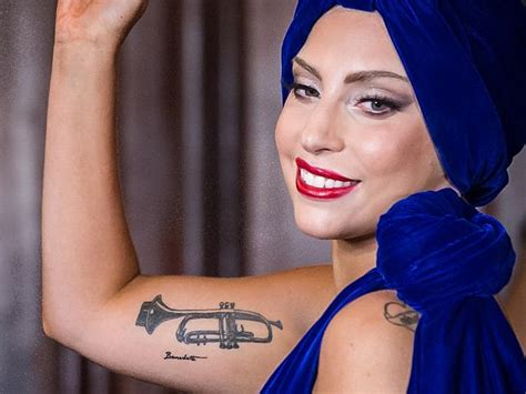 lady gaga arm tattoo 42 best designs ideas model design trends