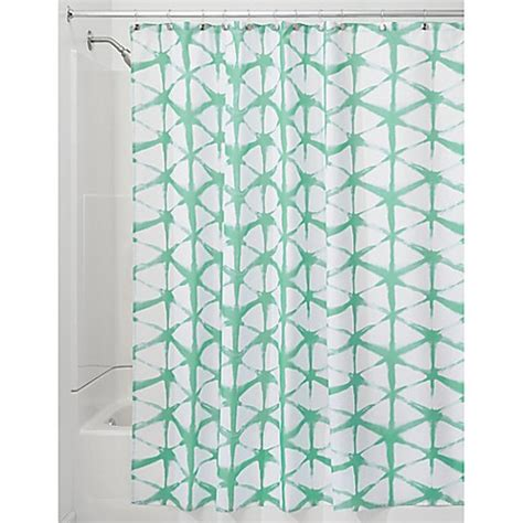 batik shower curtain interdesign 174 diamond batik shower curtain bed bath beyond