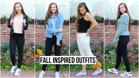 fall casual outfits  school zcbeauty youtube
