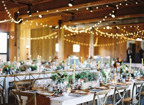 indoor wedding string lights ideas once wed