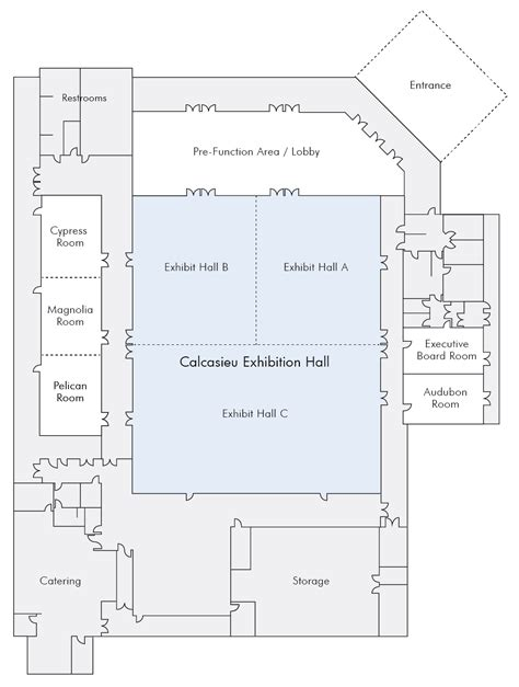 event center floor plans main exhibition hall west cal arena events center