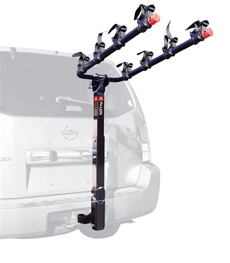 Allen Bicycle Rack by Allen Sports Deluxe 4 Bike Hitch Mount Rack W 2 Quot Receiver