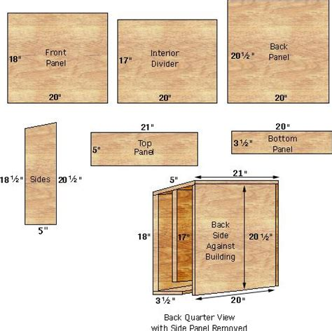 how to make a bat house free plans plans building bat house find house plans