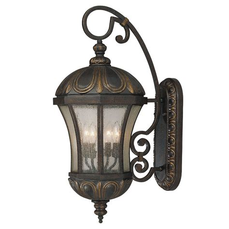 Candelabra Home Decor shop 30 37 in h old tuscan outdoor wall light at lowes com