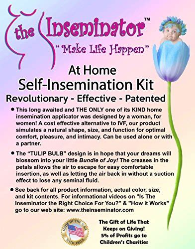 the inseminator at home self insemination kit desertcart