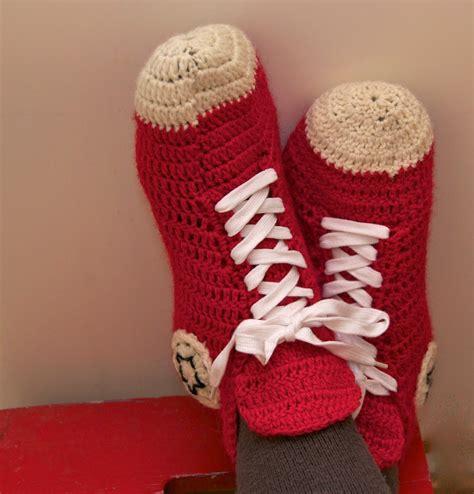 converse house shoes mun tekem 228 my crochet converse slippers english instructions