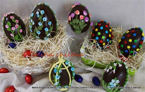como hacer la pasta para decorar huevos de pascua huevos de pascua de chocolate cocina chilena