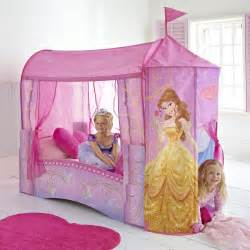 Princess Toddler Bed With Canopy Disney Princess Feature Castle Toddler Bed Mattress New