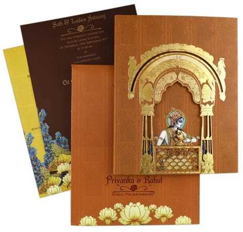 Handmade Indian Wedding Cards - indian wedding card s