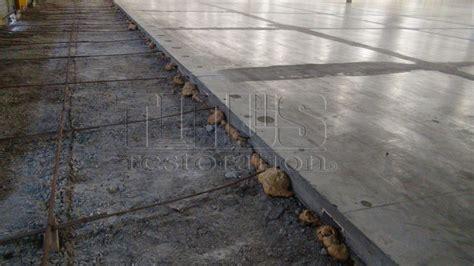 how to install tile on uneven concrete floor in bathroom
