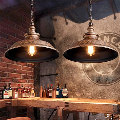 vintage industrial pendant lighting vintage loft antique painting industrial pendant lighting