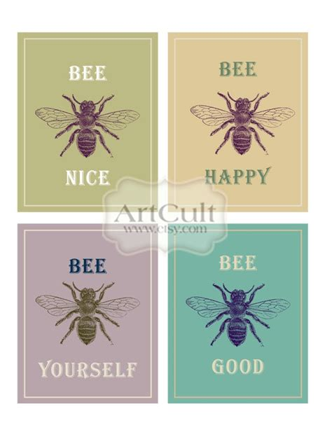 3 5x4 7 8 greeting card template the 25 best bee quotes ideas on you re