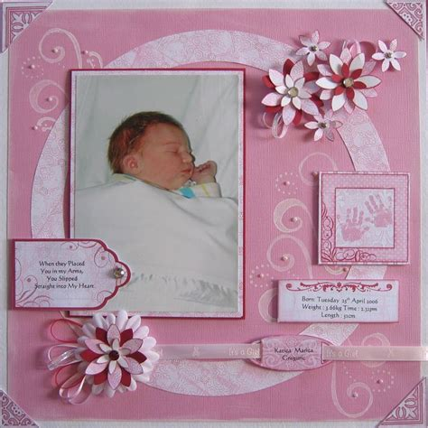 scrapbook layout for baby 201 best scrapbook page ideas baby images on pinterest