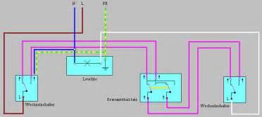 le mit 2 schaltern wie schlie 223 t lichtschalter bei 3 schaltern f 252 r eine