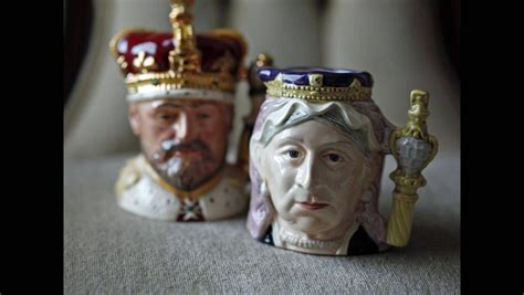 king william trash and treasure gladys yeomans shows her royal memorabilia the globe and