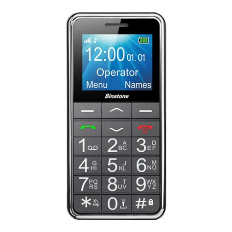 big button mobile phone new binatone m250 big button sim free mobile phone black