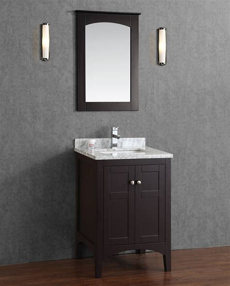 solid wood bathroom vanities buy martin 24 inch solid wood single bathroom vanity in