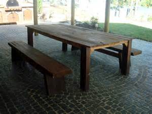 Diy Wood Patio Table Woodwork Diy Wood Outdoor Table Pdf Plans