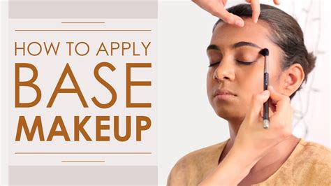 Base Makeup makeup tutorial how to apply the flawless