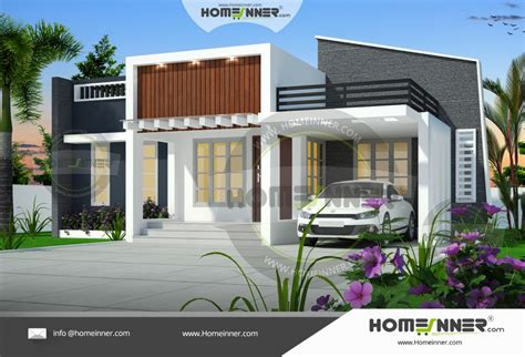 home design for single floor 1000 sq ft 3 bedroom single floor house design