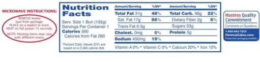 carbs in bun calories in hostess honey bun jumbo nutrition facts ingredients and allergens