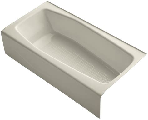 kohler soaking bathtubs kohler k 716 soaking bathtub build com