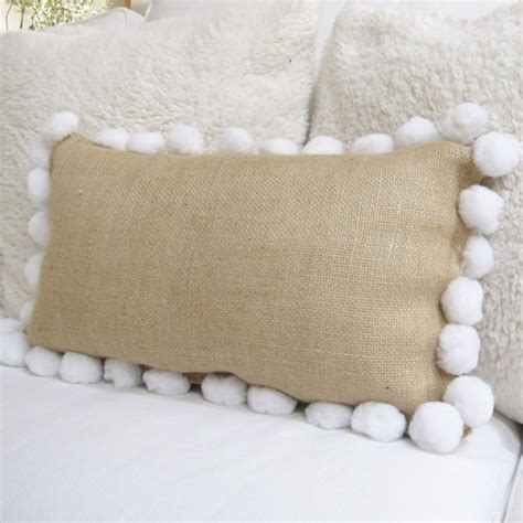 No Sew Burlap Pillow by No Sew Burlap Pillow The Shabby Creek Cottage