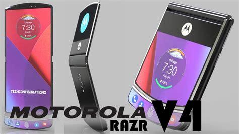 Motorola Razr V4 motorola razr v4 2019 clamshells and foldables