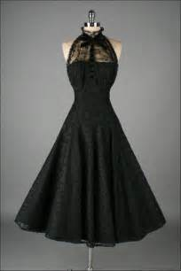 Elvish Home Decor vintage 1950 s paul sachs black tuxedo lace cocktail dress