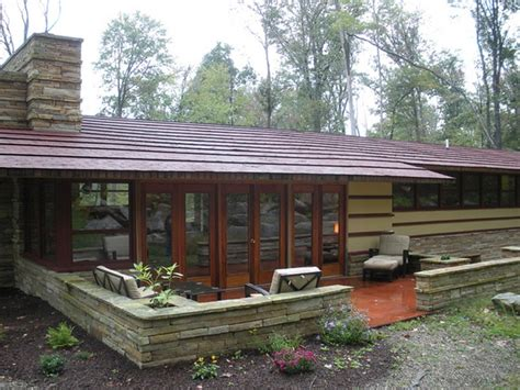 frank lloyd wright duncan house duncan house at polymath park back patio frank lloyd wright designs pinterest