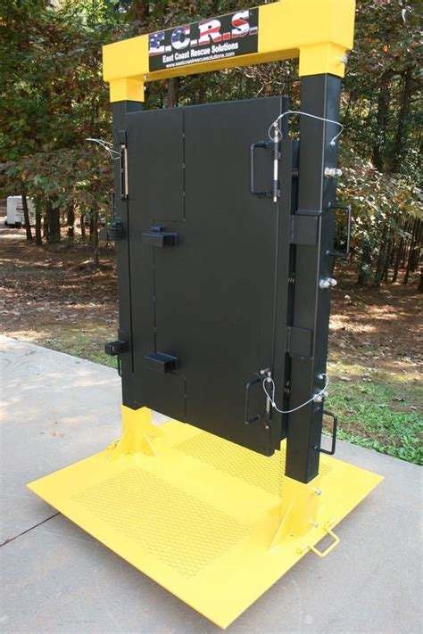Custom Built Forcible Entry Door Simulator That Allows