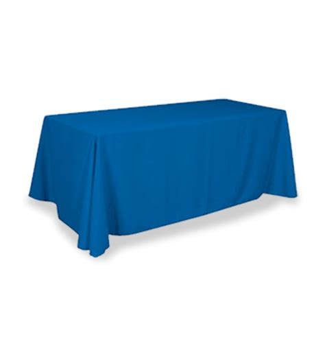 promotional table covers trade show black table throws