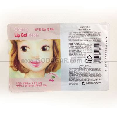 Harga Etude House Cherry Lip Gel Patch etude cherry lip gel patch isodagar