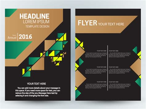 adobe illustrator flyer template flyer template design with contrast colored background free vector in adobe illustrator ai ai