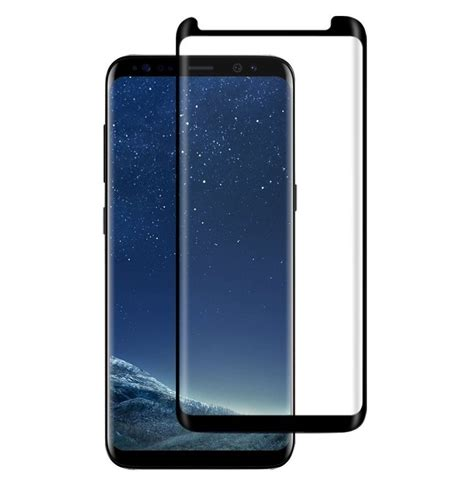 Tempered Glass 3d Samsung Galaxy S8 Curve Cover Anti Gores bakeey 3d curved edge friendly tempered glass screen protector for samsung galaxy s8 plus