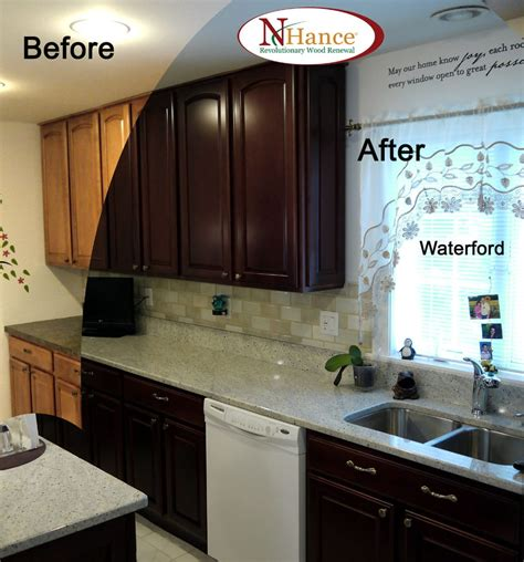 change kitchen cabinet color kitchen cabinet color change before after auburn