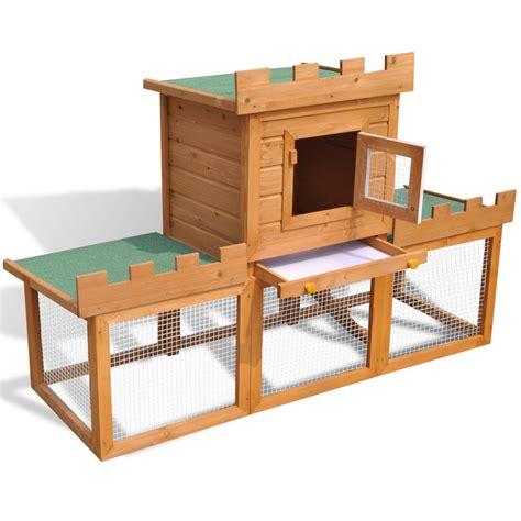 gabbie per conigli da esterno articoli per gabbia con casetta per conigli da esterno