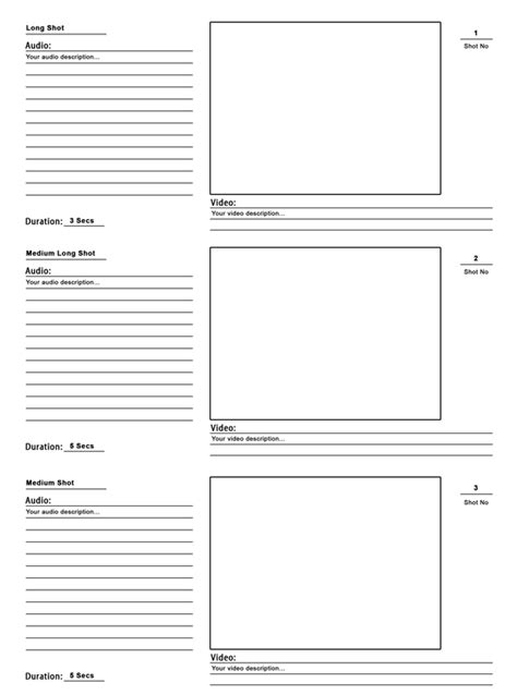 free storyboard templates for photoshop storyboard template psd for your pre production the